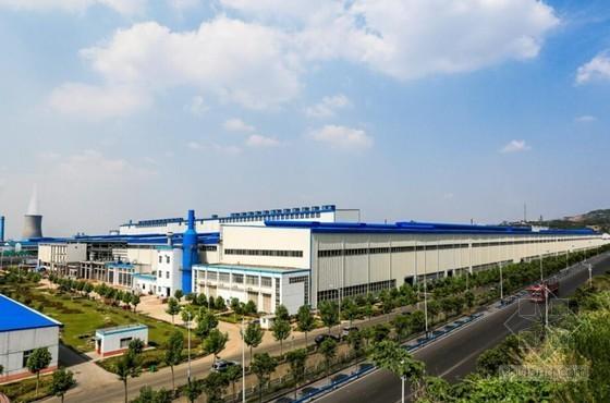 [河南]框架结构工业厂房工程施工质量成果汇报(39页 附图较多)