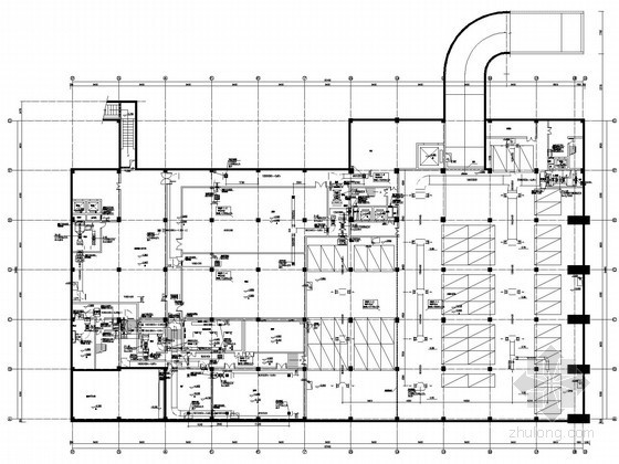 VRF空调设计资料下载-[浙江]科技办公楼空调通风及防排烟系统设计施工图(空气源热泵系统)