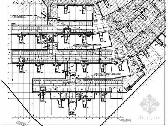 [重庆]大型综合商住区强弱电施工图222张(多大样 全套项目清单手续报送表 审图意见汇总)