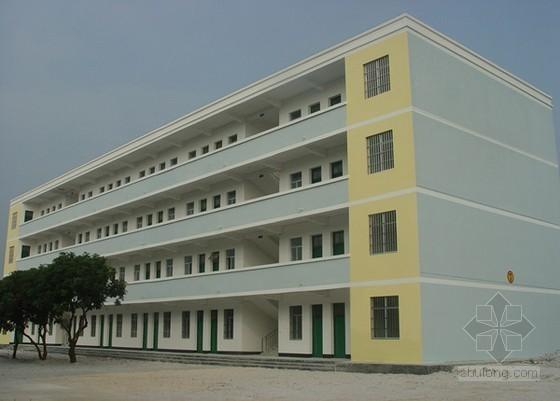 厦门9层宿舍楼(土建)工程造价指标(2012.11)