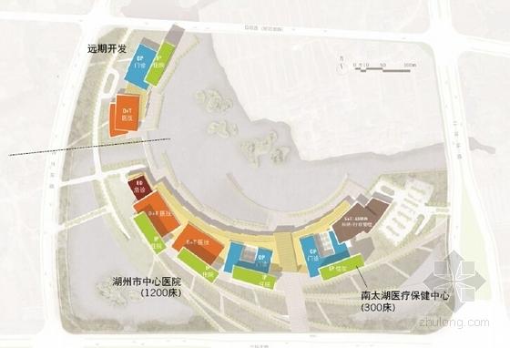 医院概念规划设计方案分析图