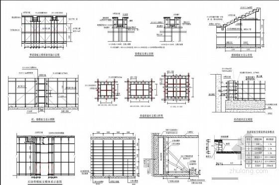 [广东]高层住宅楼模板及轮扣架支撑系统施工方案(2014年编制)