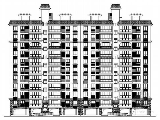[海南]现代风格高层保障性住房建筑规划设计施工图