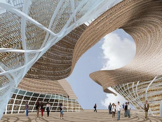 [上海]钢结构文化博览馆施工关键施工技术创新汇报(90页 丰富工程图)