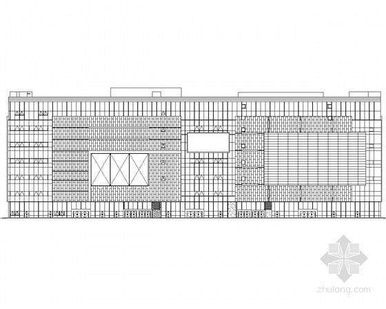 [江苏]某7层购物商场建筑施工图