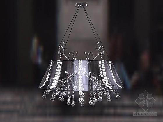 时尚精美灯具3D模型下载