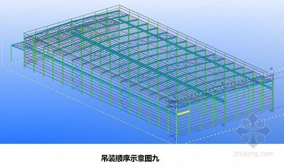 [重庆]钢结构厂房施工组织设计(压型钢板墙、轻钢屋面)