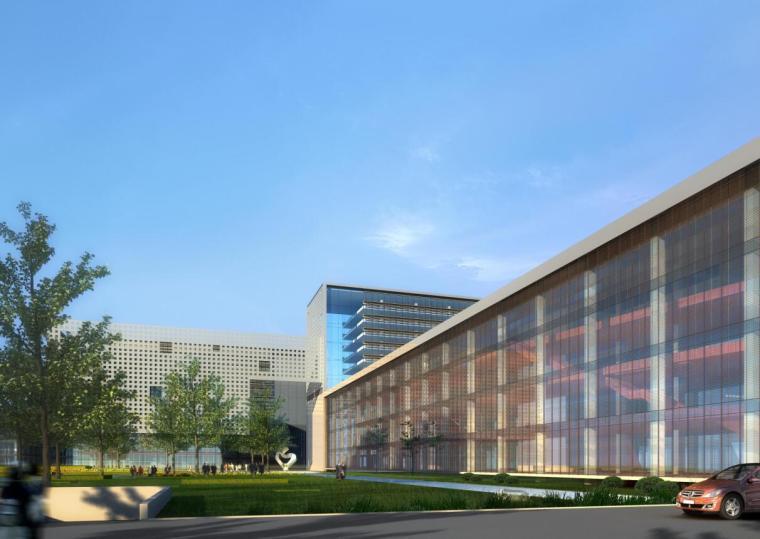 [北京]某金碟软件园商业办公建筑方案文本PDF(109页)