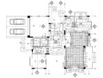 欧式简约风格别墅样板间装饰施工图(附手绘效果图)