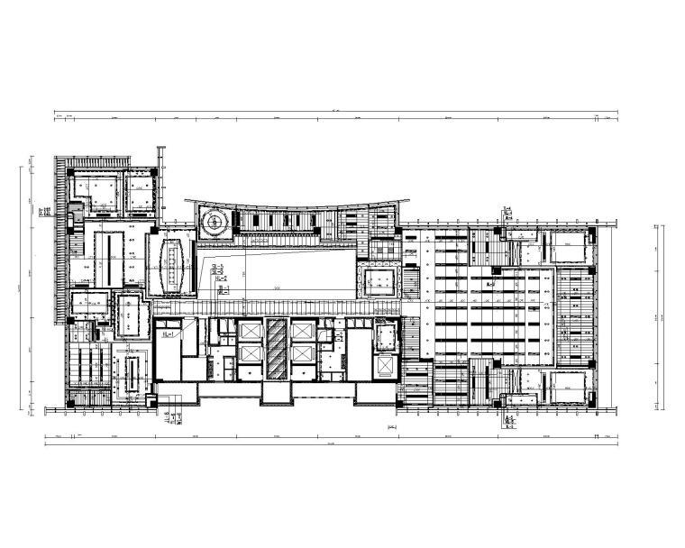 万骏总部室内工装设计施工图