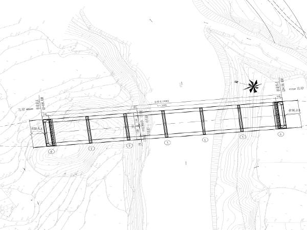 [重庆]预应力混凝土T梁桥工程施工设计图纸
