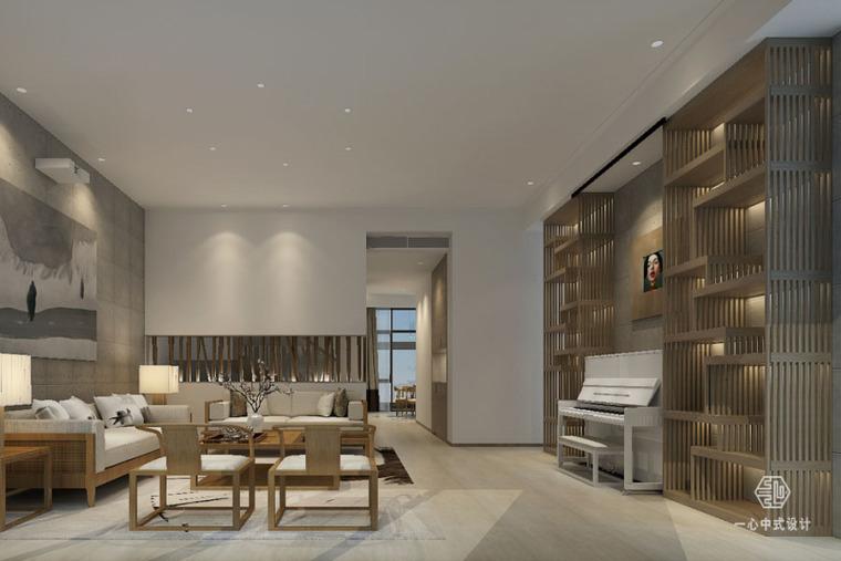 东莞棠樾叠墅中式别墅设计案例,清雅风情的生活格调