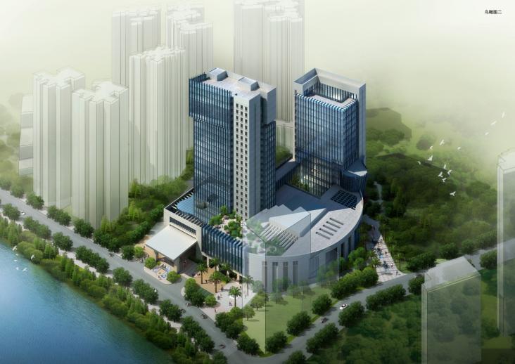 [铜仁]高层现代风格宾馆投标方案(已中标)_2