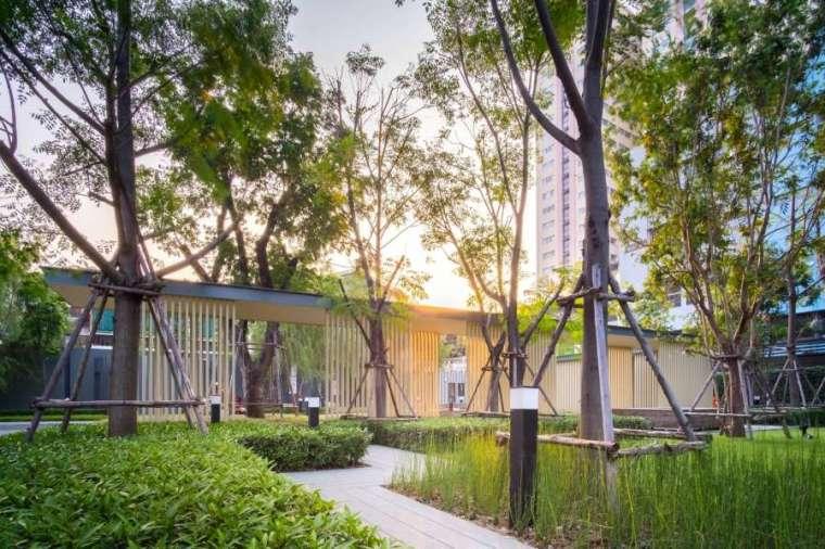 曼谷日本工艺与现代融合的Life住宅-5