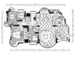 【陕西】西安某现代风格别墅设计CAD施工图(含效果图)