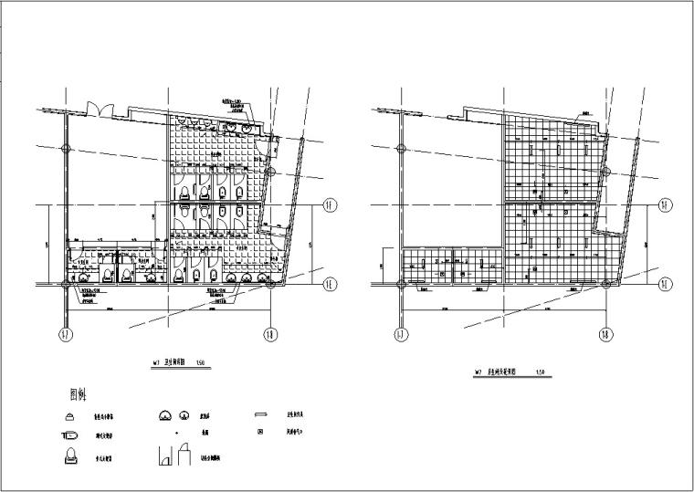 3套现代宾馆酒店建筑设计施工图CAD_15