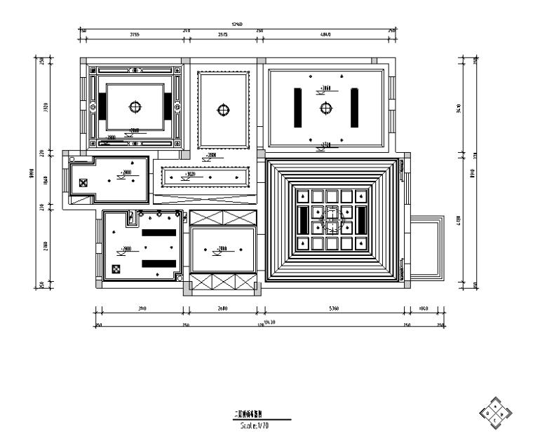 [江苏]罗托鲁拉小镇别墅设计施工图(附效果图)