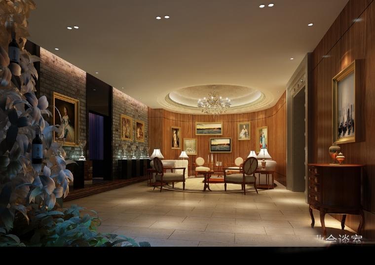 高档典雅红酒展示厅设计方案图-设计图 (18).jpg