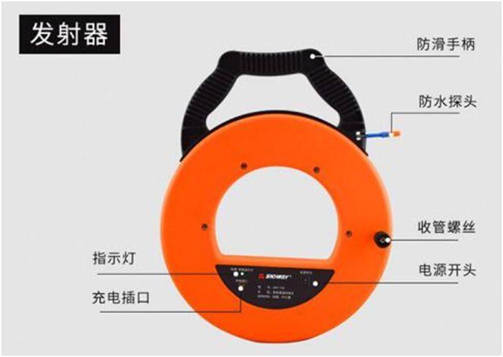 一种探测穿线管堵塞位置的仪器