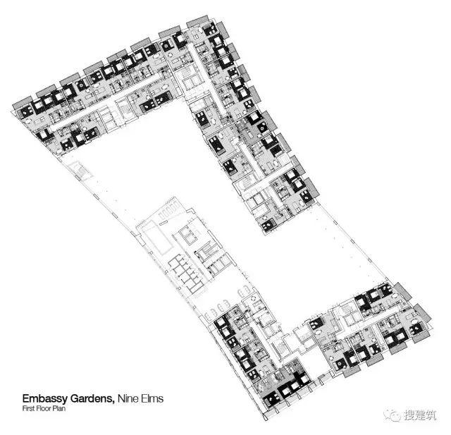 """27米长的""""空中泳池"""",在两栋大楼的第10层连接在一起,中间完全_36"""