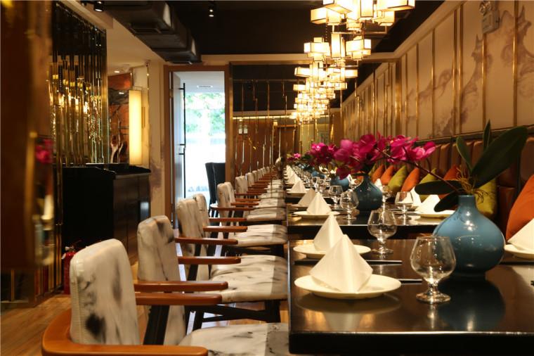 [特色餐厅设计]大连粤食粤点餐厅项目设计实景照片震撼来袭-5.JPG