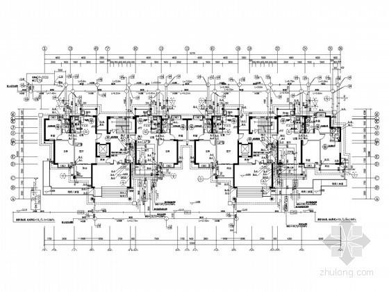 [海南]12层住宅楼给排水消防施工图(冷凝水系统  )