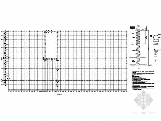 轨道交通综合基地联合检修库结构施工图