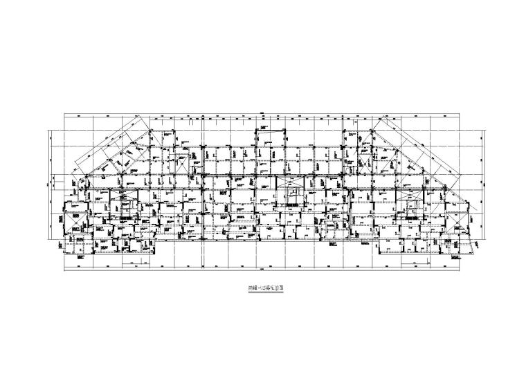 [贵州]7栋高层剪力墙结构商铺+住宅施工图(2012)