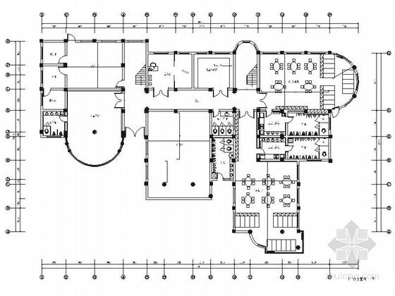 [宜宾]精品现代幼儿园室内装修施工图(含效果)