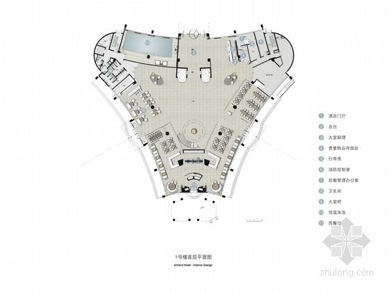 [深圳]高端奢华五星级度假酒店设计方案