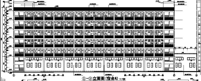 高层框剪结构第三工业区工业园(含宿舍、食堂、公寓建筑)