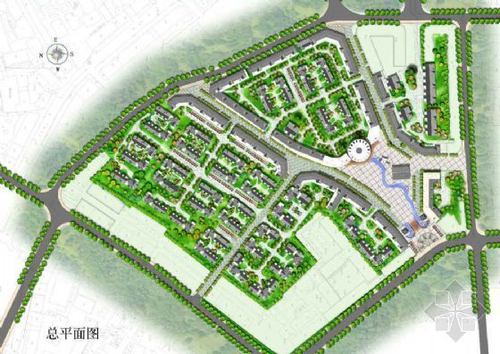 绵竹市居住区景观设计方案