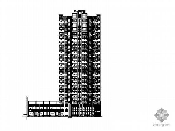 [合肥]某居住小区二十二层住宅楼(1号楼)建筑施工图
