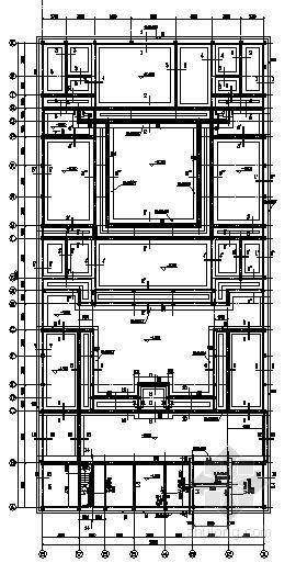 砌体四合院结构施工图