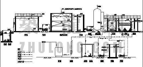 垃圾渗滤液处理工程工艺流程图