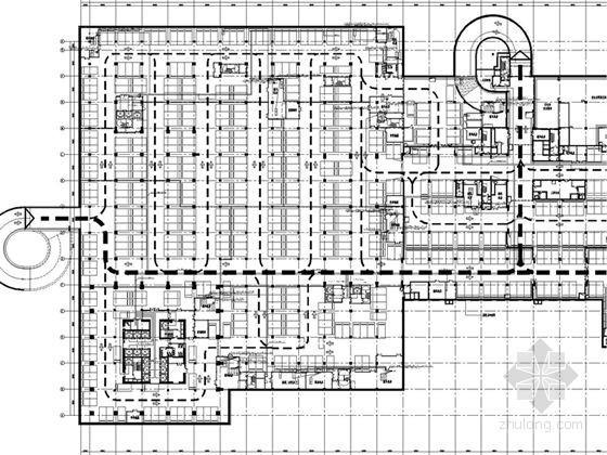 [天津]5A级超高层办公建筑全套智能化弱电系统施工图纸144张(含详细设计说明)