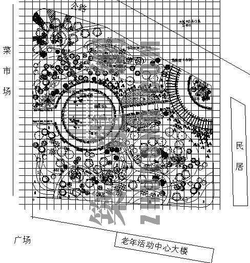 小游园设计平面图