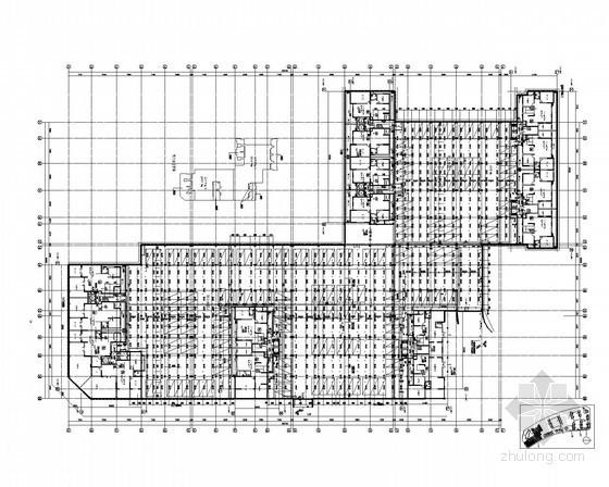 [四川]住宅小区给排水施工图(含幼儿园、综合楼、车库)