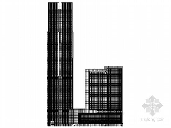 [江西]国内知名星级酒店及办公楼建筑施工图(图纸精细 推荐参考)