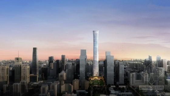 北京第一高楼——中国尊基坑施工动画,珍藏视频!