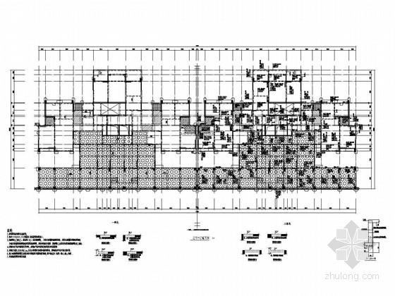 [四川]29层剪力墙结构高层商住楼结构施工图