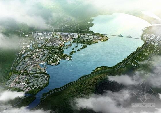 [内蒙]新区城市概念性规划及单体建筑设计方案(知名设计院)