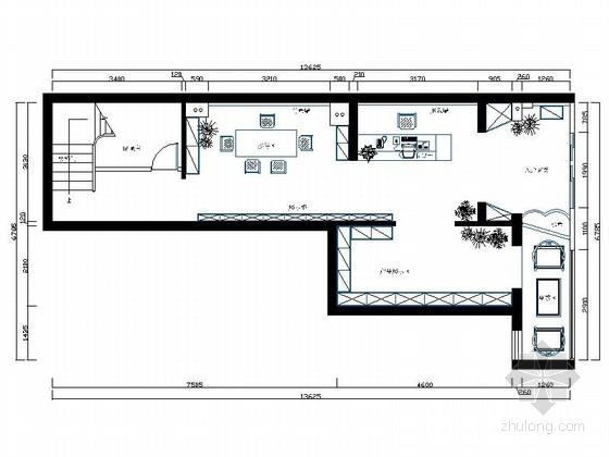 [陕西]经典中式特色茶楼装修室内设计图(含效果)