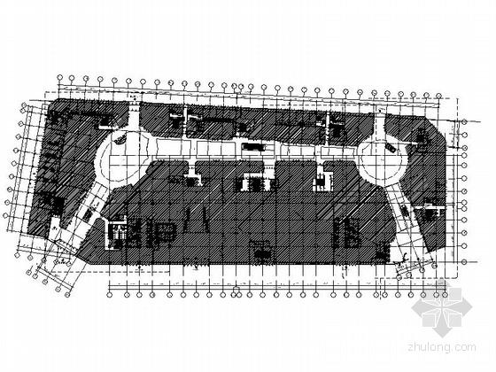 [广东]知名设计院国际范大气时尚商业步行街室内施工图(推荐!)