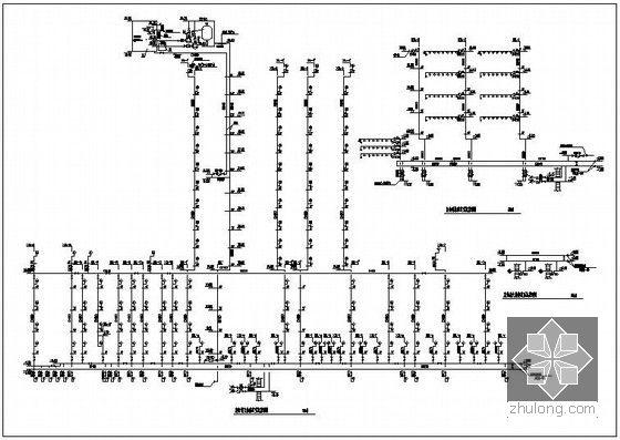 消火栓管道系统图