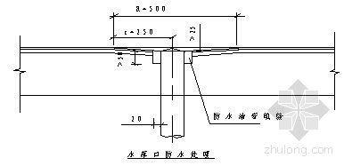 某住宅楼屋面防水施工方案(聚氨脂涂膜防水)