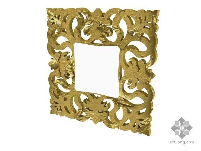 vr镜子材质资料下载-欧式镜子