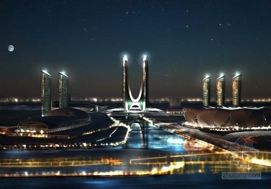 [浙江]超高层商业综合体建筑方案文本(316米、美国知名事务所设计方案)