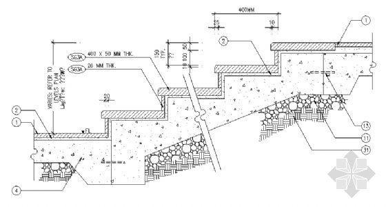 台阶剖面图4