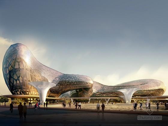 现代艺术建筑3D模型下载
